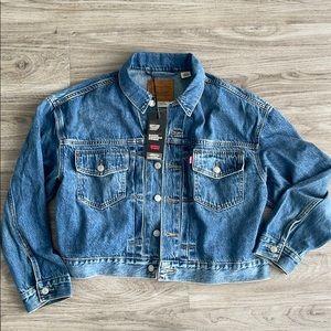 Levi's premium heritage trucker Jean jacket